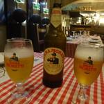 トラットリアラ・ペントラッチャ - ドリンク写真:イタリア最古のビール