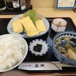豊福 - 出し巻き定食700円、ご飯大盛り無料!(2019.7.28)