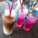 レックス カフェ - ドリンク写真:アイスラテ、シソスカッシュ