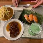 白浜古賀の井リゾート&スパ - 息子の夕食①