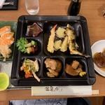 白浜古賀の井リゾート&スパ - 家内の夕食①