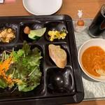 白浜古賀の井リゾート&スパ - 家内の夕食②