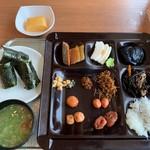 白浜古賀の井リゾート&スパ - 私の朝食①