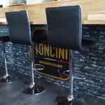 TONCINI  - 内観 カウンター席