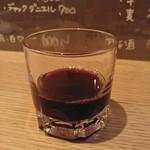 セイロスタンプ ケントス - 古越龍山 紹興酒 善醸仕込み 600円 ストレートで