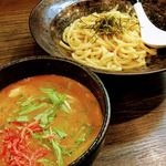 麺家 あべの - 海老つけ麺 並(320g) 830円