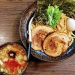 麺家 あべの - 全のせつけ麺 大(520g)  1440円