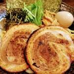 麺家 あべの - 全のせつけ麺 大  チャーシュートッピングは1枚 180円なので チャーシューのみ食べたい人は2枚 360円でトッピングの方がオススメ