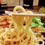 麺家 あべの - うどんばりの極太麺 硬めでモッチリ 麺めちゃ好み ンマい!