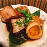 名物長崎芳寿豚と地場野菜 新町なみなみ - 角煮と煮玉子