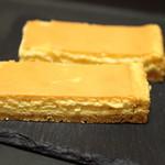 パティスリーQBG - 贅沢クリーミーチーズケーキ。
