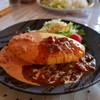 モアザン 地産地消カフェ ぷくぷく - 料理写真:まんぷくWソースオムライス