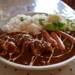 モアザン 地産地消カフェ ぷくぷく - 肉コンボスペシャルカレー