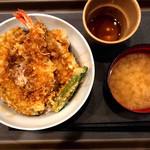 てんや - 2019.7再訪 てんや 水戸渡里店 天丼 ¥540(税込) - JAF割引¥50
