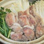 こうじや麹町本店 - 宴会コースでも大人気の鴨鍋です。