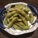 Tokkuri - 枝豆の燻製 450円