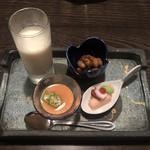 Tokkuri - 近江野菜のお通し