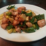 Miga - 銀杏と鶏肉の炒め