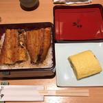 炭焼きうなぎの魚伊 - うな重・う巻セット(上) 3,500円