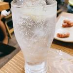塩ホルモンさとう - レモンサワー