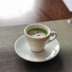 112480918 - グリンピースの冷製スープ