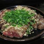 もつ鍋才谷 - 牛肉たたき