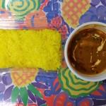 インド・ネパール料理 クマリ - 料理写真:ポークカレーセット