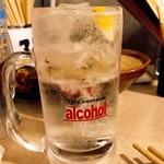 串カツ 田中 - レモンサワー