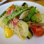 112490431 - 旬野菜のスパゲッティ
