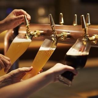 徹底した温度管理、無濾過のクラフトビール