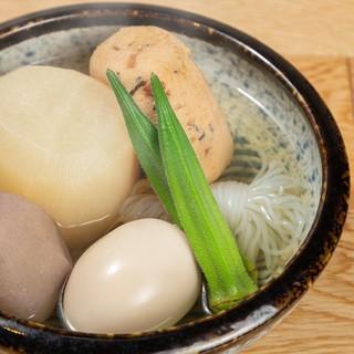 【塩おでん】天然出汁と茜塩、渋谷の名店直伝の味を新橋でも!