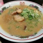 112497561 - 【こってり背脂中華そば + とろーり半熟煮卵】¥720 + ¥100