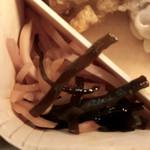 膳まい - 紅生姜と昆布の佃煮