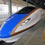 駅弁屋 - 【参考】乗車したE7系『とき』