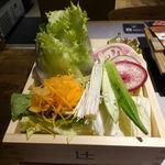 しゃぶしゃぶれたす - 極み和出汁SPF熟成豚肉盛り(レモンライスお替り自由) 1000円
