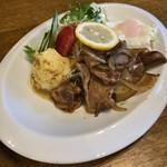 えみる - 料理写真:生姜焼き定食 1000円