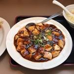 112504098 - 麻婆豆腐・餃子セット