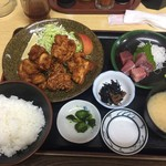 定食 卓味 - 料理写真:唐揚げ定食