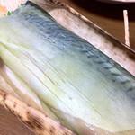 11251360 - 蕎麦屋の鯖寿司(1500円)