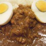 CoCo壱番屋 - チキン煮込&納豆&茹で卵(小飯で¥820!)