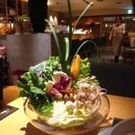 やさい家めい ルミネ横浜店 - 野菜しゃぶしゃぶ
