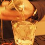 バー ブラン - ロック用のダイヤモンドカットの氷です!!