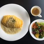 カフェレストラン ルシェッロ - オムライスランチ