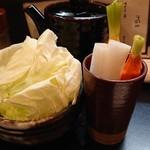 五源大喜 - 生キャベツ&野菜スティック
