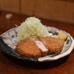 ぶた いながき - リブロースカツ定食☆