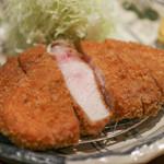 ぶた いながき - 料理写真:リブロースカツ定食☆