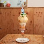 カフェ・ド・リオン パレット - 料理写真:最高級白桃づくし☆
