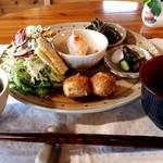 cafe風の庭 - 料理写真:ランチセット(1000円)
