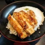 麹町はとり - 料理写真:鶏とろろ丼