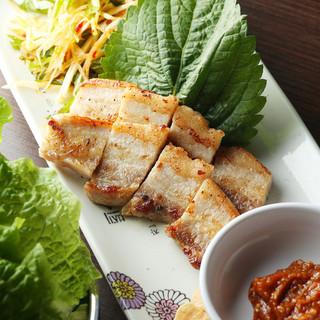サムギョプサルやカンジャンセウなど本場韓国の味が味わえます!